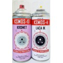Kit Spray Efecto Cromado + Barniz 400ml.