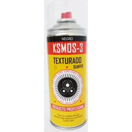 Spray negro texturado 400ml.