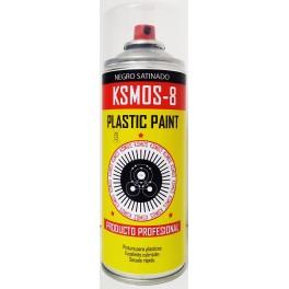 Spray negro satinado 400ml.